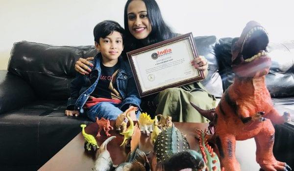 Meet the five year old 'Dinosaur boy' of UAE!