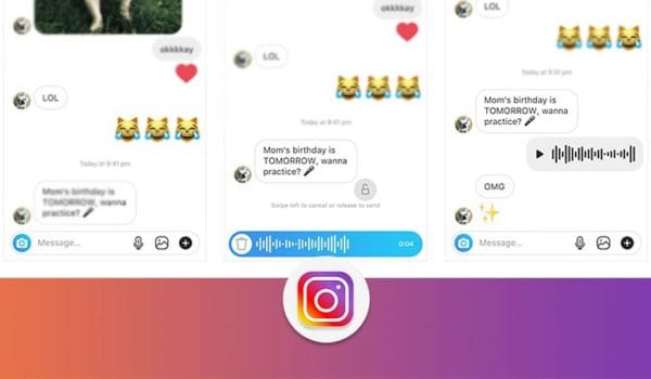 Instagram now lets you send voice messages!!!