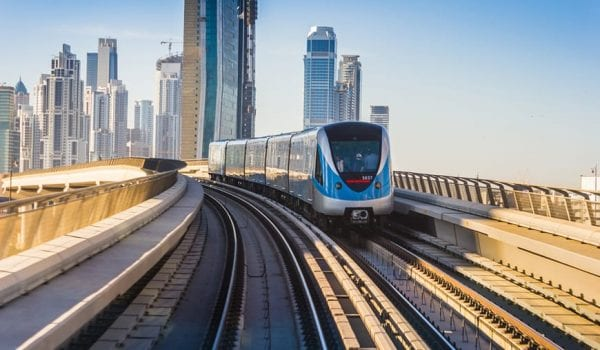 Dubai Metro station advisory for passengers