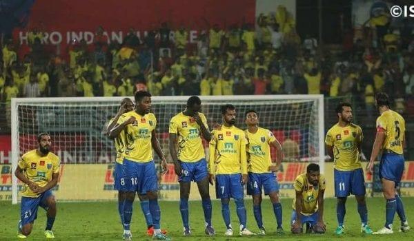 Kerala Blasters win-less streak.