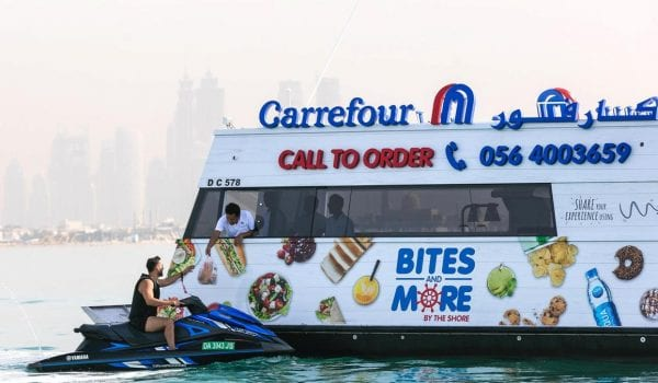 Carrefour launches 'world's first' sailing supermarket in Dubai