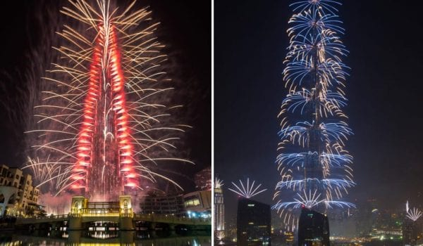 The New Year Eve fireworks to return at Burj Khalifa