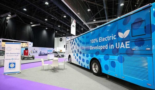 Abu Dhabi rolls out first fully electric bus in the Middle East.