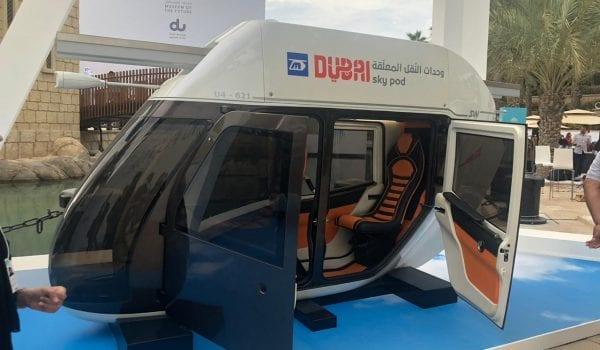 Skypods to cruise around Dubai