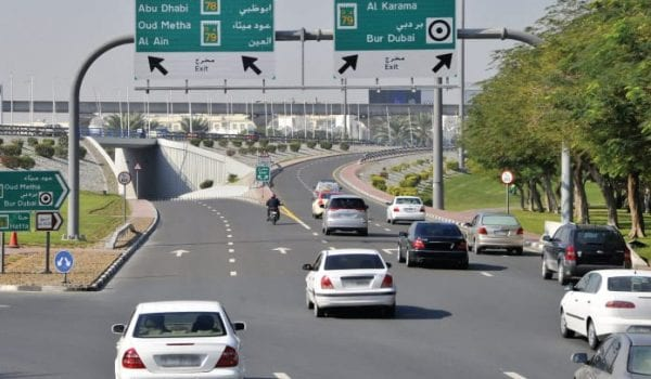 Reduction in Dubai traffic fines?
