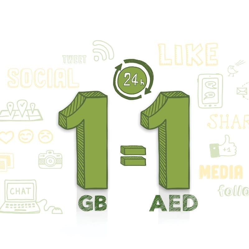 Etisalat offers 1GB data for AED 1 !! | Gold 101 3 FM | Updates
