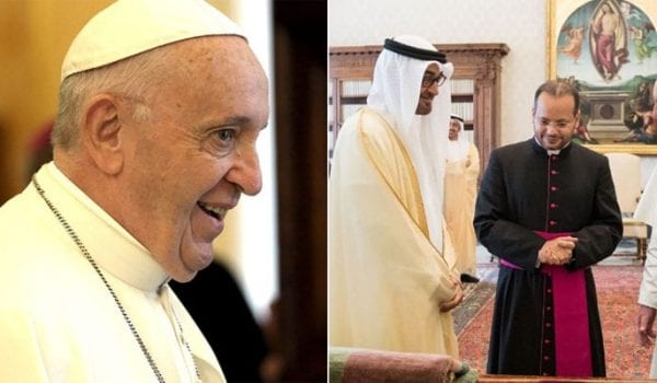Excitement as Pope Francis' visit to UAE begins today