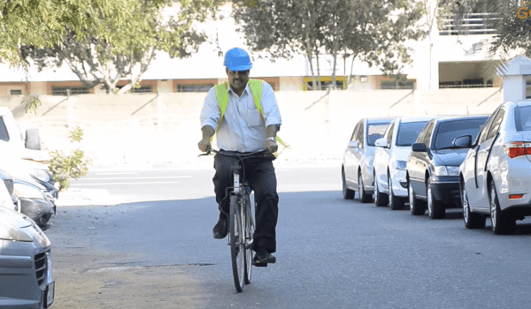 Expat from Kerala uses Cycle as Mode of Transportation in Dubai!