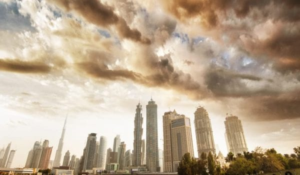 Sandstorm and high degrees across the country