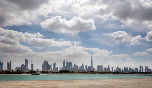 Light rain, cloudy weather forecast in UAE