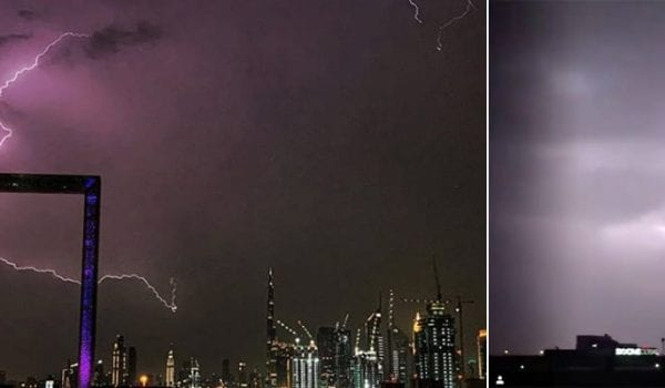 Dubai extreme weather to stay until Thursday?