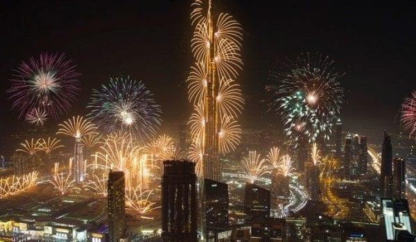 Dubai Burj Khalifa New Year 2020 Fireworks To Begin!