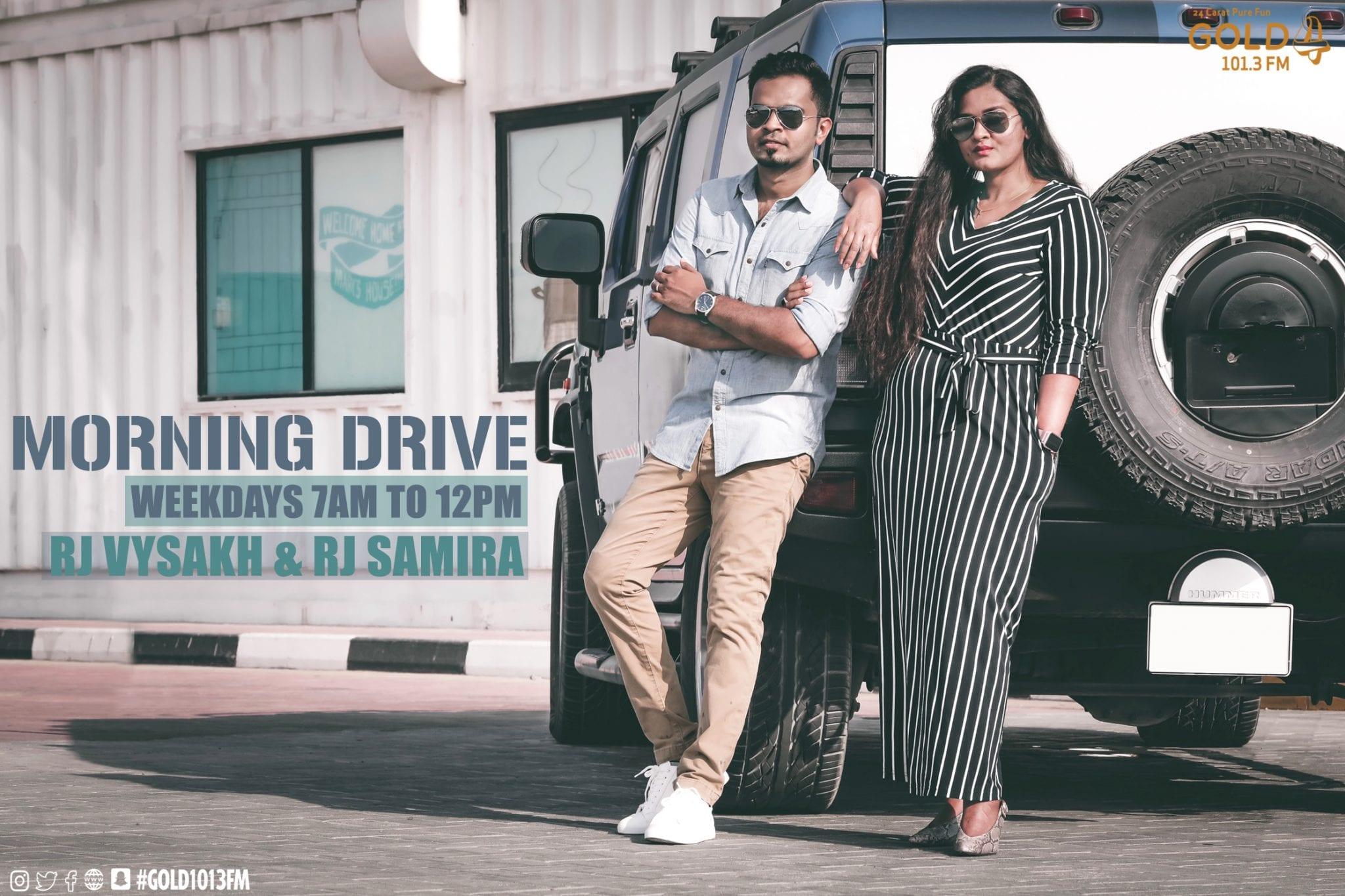 VYSAKH & SAMIRA - MORNING DRIVE - Option 01